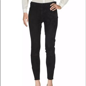 Brian Dales leather Suede leggings size 44